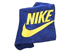 Graphic Mini Towel - Blue/Yellow