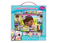 Disney Doc McStuffins Sticker Box