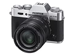 Fujifilm X-T10 Digital Camera Kit w/ 18-55mm Lens