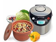 VitaClay Smart Organic Multi-Cooker, 8-Cup