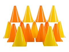 Traffic Safety Cones, Kids Set of 15