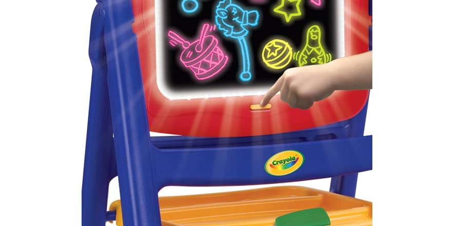 Best Crayola Toys For Kids : Crayola qwikflip glow easel kids toys