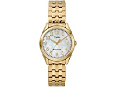 Timex Briarwood GoldTone Expansion Watch
