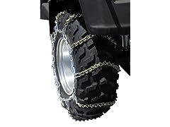 ATV V-Bar Tire Chains, Size B