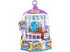 Little Pets Bird w/ Cage - Funky Feather