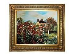Monet - Artist's Garden