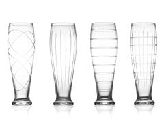 Medallion 20oz Pilsner Glasses (4)