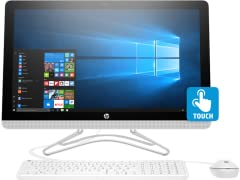 "HP 24"" Touch All-in-One Intel i5 Desktop"
