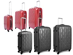 Arrowhead 3-Pc Luggage Set 3-Colors