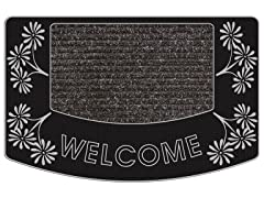 Outdoor Mat - Aloha Welcome, Silver