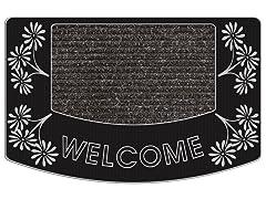 Outdoor Mat - Aloha Welcome, Silver