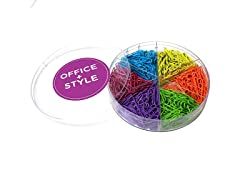 Office + Style 28mm Paper Clips - 3 Pack