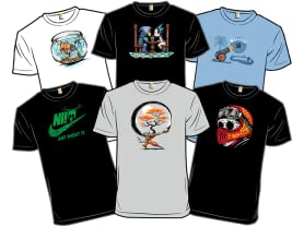 Wonderfully Wacky New Shirts!