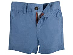 Light Blue Chambray Shorts (3/6M-4T)