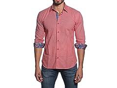 Jared Lang Dress Shirt, Red