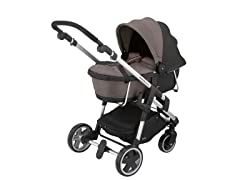 Walnut Carrycot for Click 'n Move 3