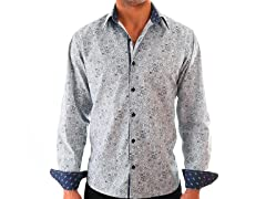 Lucky Luciano Cambridge Slim Fit Casual Shirt