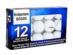 Bridgestone B330 Golf Ball 12-Pack