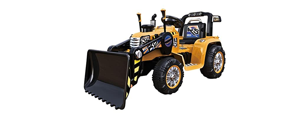 12V Power Tractor Ride-On with Remote