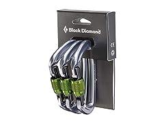 Black Diamond Positron Screwgate 3 Pack