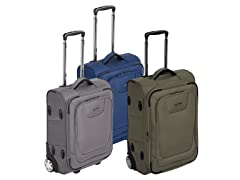 AmazonBasics Expandable Softside Carry-On, TSA Lock