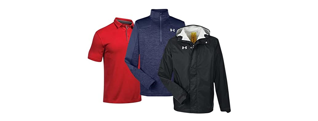 Under Armour Men's Polos and Jackets