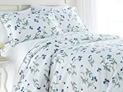 Southshore 300TC Cotton Sateen Duvet Set