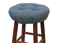 "Gripper® 14"" Barstool Covers-Monitor-Blue S/2"