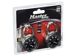 Master Lock Combination-Alike Locks, 4-Pack