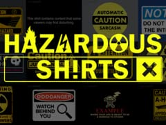 Caityjean: Hazardous Shirts