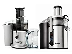 Breville Juice Fountains - 2 Styles