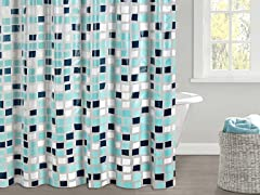 Odette PEVA Shower Curtain