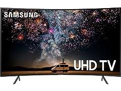 "Samsung 55"" Class RU7300 Curved Smart 4K UHD TV"