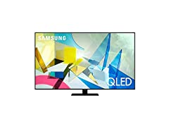 "Samsung 50"" or 85"" Q80T/Q8DT QLED 4K UHD HDR Smart TV"