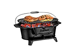 Bruntmor Charcoal BBQ Cast Iron Grill