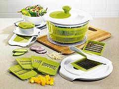 Premium Salad Spinner and Slicer