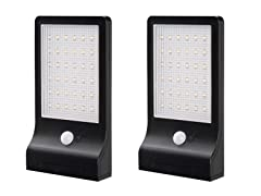 Slim Solar Motion Sensor Light (2-Pack)