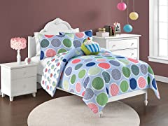 Reversible Bedding Set (Twin or Full) - Sweet Thing