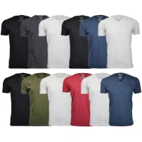 3-Pack Ethan Williams Ultra Soft Sueded Semi-fitted Crew Neck or V-Neck T-Shirt