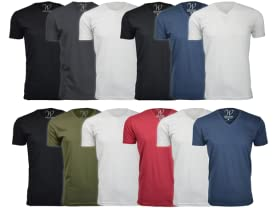 3-Pack-Ultra Soft Sueded Semi-fitted Crew Neck T-Shirt