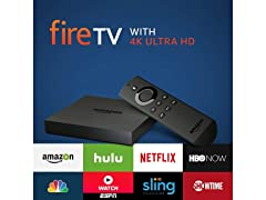 Amazon Fire TV w/ 4K Ultra HD (S&D)