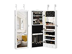 SONGMICS Jewelry Cabinet Armoire