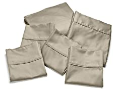 Eddie Bauer 500TC 6Pc Sheet Set - Basil - King