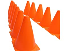 "Activity 7"" Traffic Cones - 12 Pack"