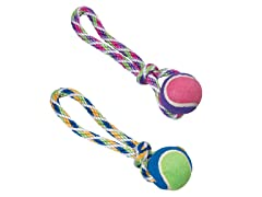 Rainbow Twister Tennis Ball Tug-Random