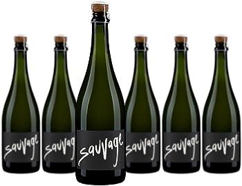 6-Pack Gruet Sparkling Sauvage wine