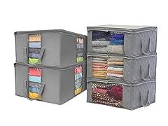 Sorbus Foldable Storage Bundle, 5 Piece