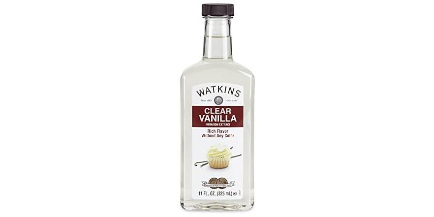 Watkins Clear Vanilla Flavor Extract- 11 oz. Bottle   WOOT