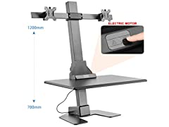 Halter ADT-DM Automatic Sit/Stand Desk Converter