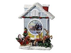 Christmas Cardinal Cuckoo Clock